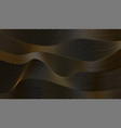 abstract minimal background with wavy vector image vector image