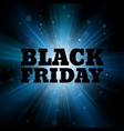 black friday sale template abstract explosion vector image