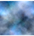 Blue smoke background vector image vector image