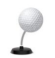 Golf souvenir vector image