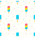 ice cream seamless pattern background eps vector image