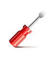 Screwdriver isolated on white