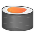 seafood sushi icon cartoon style vector image vector image