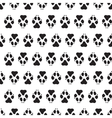 Traces dogs seamless pattern vector image
