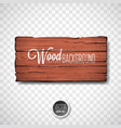 wood texture background design natural vector image vector image