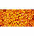 abstract background with orange hearts vector image