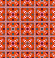 Abstract kaleidoscope pattern vector image vector image