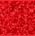 abstract triangle mosaic pattern background vector image vector image