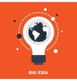big idea vector image vector image