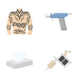 Body tattoo piercing machine napkins tattoo set