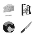 ecology business trade and other monochrome icon vector image vector image