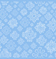 hand drawn seamless pattern with white vector image vector image
