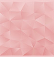 light pink abstract polygonal template a sample vector image vector image