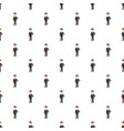 man in suit pattern vector image vector image