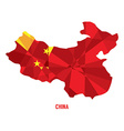 Map of China vector image
