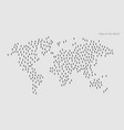 world map international map vector image vector image