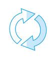 arrow cursor symbol vector image vector image