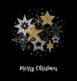 elegant merry christmas background banner and vector image vector image