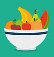 Food design vector image