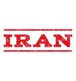 Iran Watermark Stamp vector image