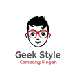 Style Design Geek vector image vector image