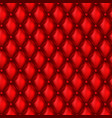 3d leather upholstery seamless pattern vector image vector image