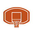 basketball sport game vector image vector image