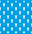 brush powder pattern seamless blue vector image
