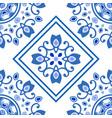 ceramic tile pattern vector image