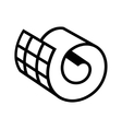 Netting roll icon vector image vector image