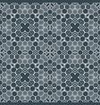 abstract geometric monochrome futuristic pattern vector image
