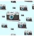 Seamless camera background vector image