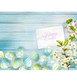 Happy easter Greeting Card EPS 10 vector image vector image