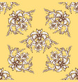 renaissance seamless ornament vector image