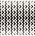 Seamless ZigZag Rounded Lines Ethnic vector image