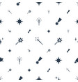 sparkle icons pattern seamless white background vector image vector image