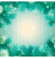 Winter abstract background Christmas background vector image vector image