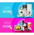 appliances logo design template electrical vector image