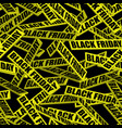 black friday sale background seamless pattern vector image
