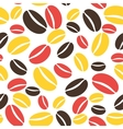 Coffee pattern seamless vector image