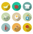 Cooking icons vector image