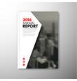 modern brochure report or flyer design template vector image vector image