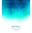 Abstract geometric background Template vector image vector image