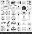 beauty salon and barber shop badges