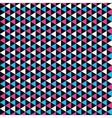 Color mosaic pattern - seamless vector image vector image