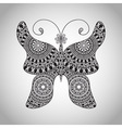 Doodle Butterfly tattoo sketch vector image vector image