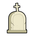 grave of dead icon vector image