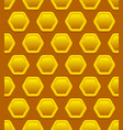 honeycomb pattern repeatable vector image