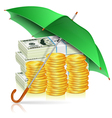 Monetary Stability Concept vector image vector image