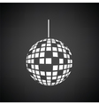 Party disco sphere icon vector image vector image